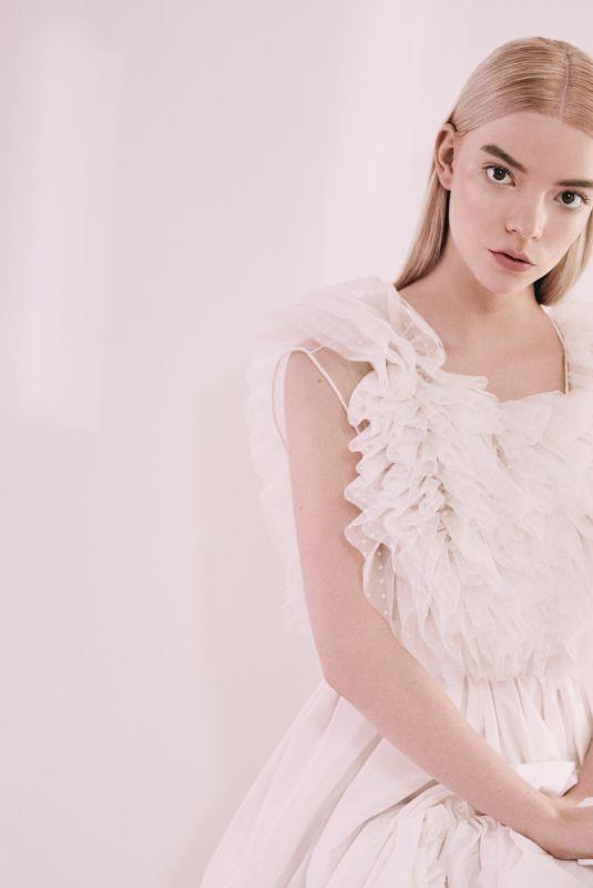 Anya Taylor-Joy Featured in Elle Magazine - UK February 2020