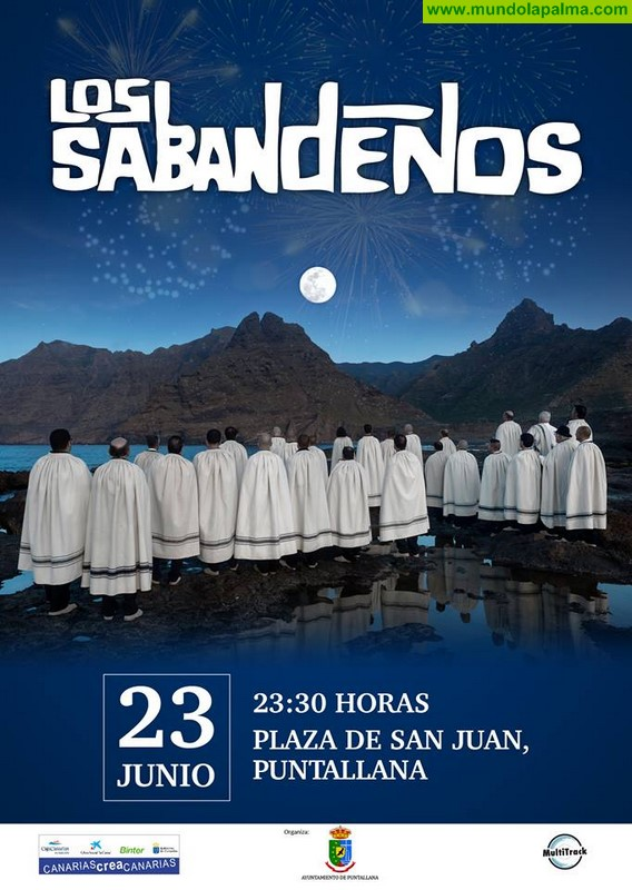 Concierto de Los Sabandeños en Puntallana