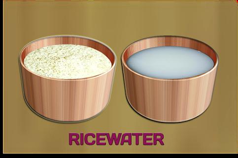 चावल के पानी के 6 अद्भुत फायदे इसे कैसे बनाएं और सही तरीके से इस्तेमाल करें।