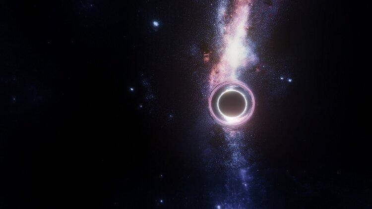 آیا کسی میتواند برای بررسی یک سیاهچاله وارد آن شود؟