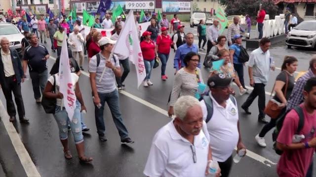 Panameños retoman acciones en defensa de la seguridad social