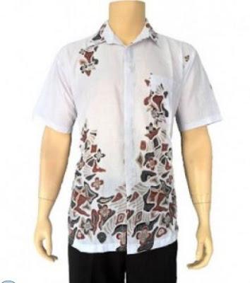 model baju batik pria trendy