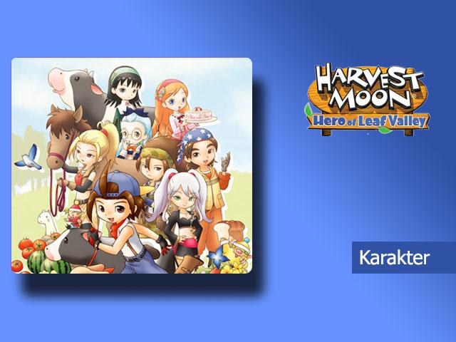 Karakter - Harvest Moon Hero of Leaf Valley