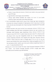 Press Release COVID-19 Tarakan 23 Juli 2020 - Tarakan Info