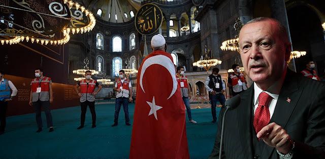 Ερντογάν: Θα δώσουμε μάχη με το αίμα μας για να ακούγονται οι προσευχές μας