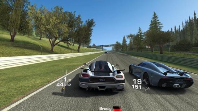 Game Balap Mobil Offline Terbaik Real racing 3