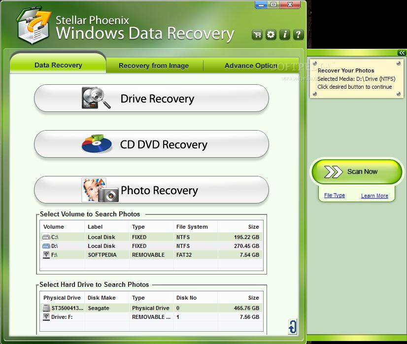 Stellar Data Recovery-Windows Standard Publisher's Description