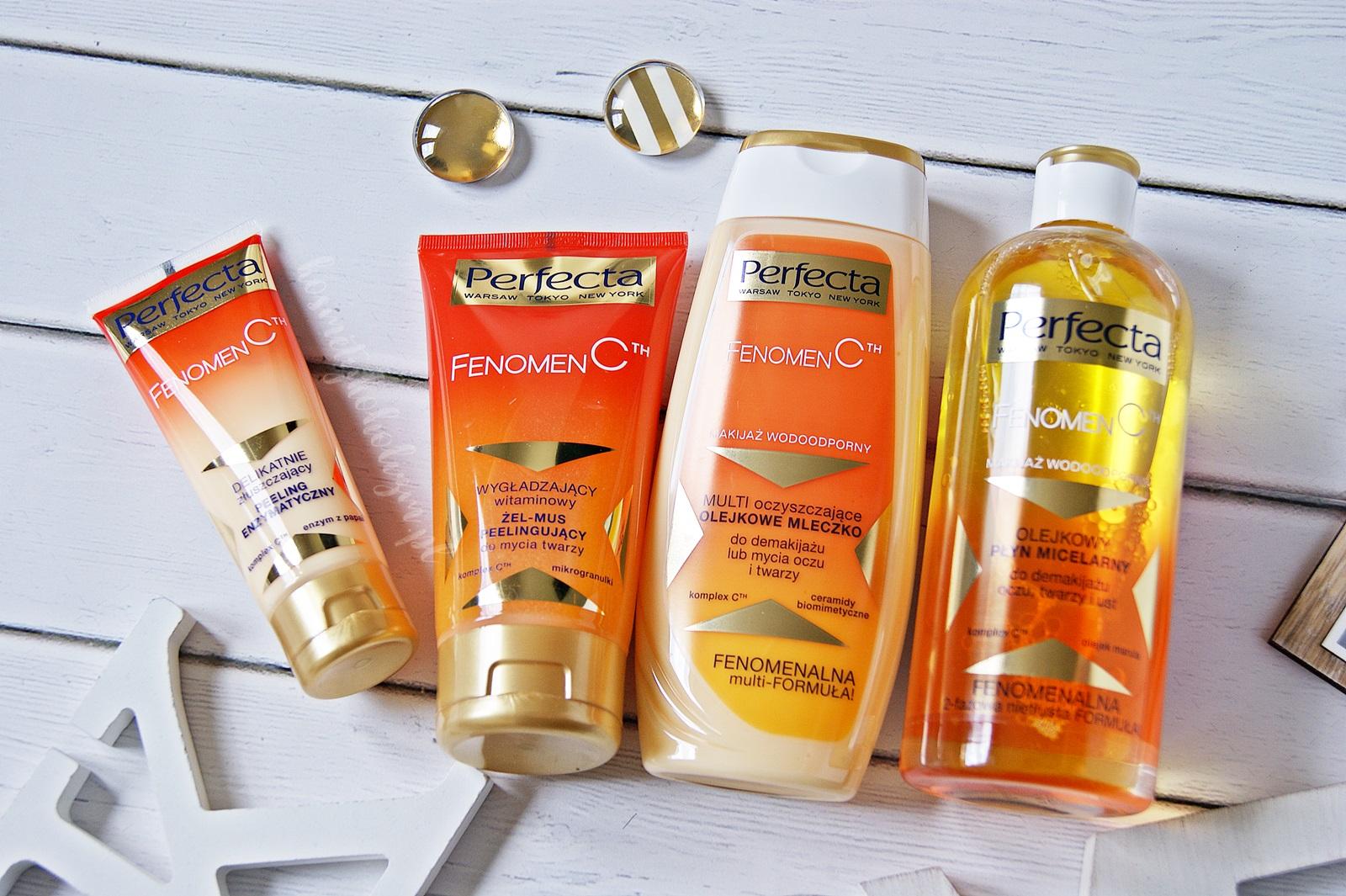 Perfecta FENOMEN CTH | Demakijaż i oczyszczanie z witaminą C