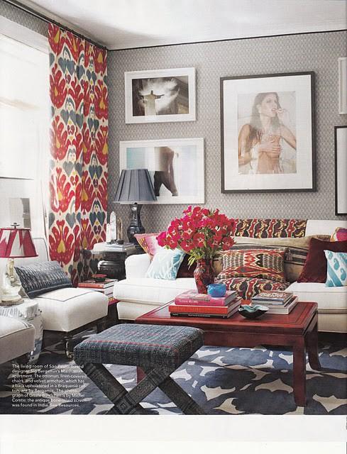 Amber Interior Design: Pattern mixing