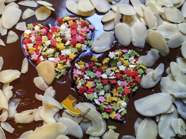 Corazones San Valentín sin gluten