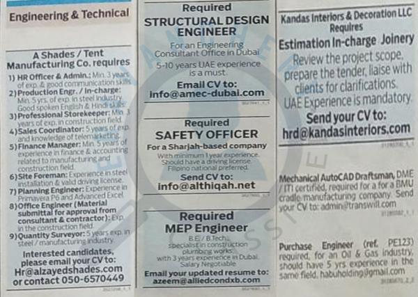 gulf news jobs - slubne-suknie info