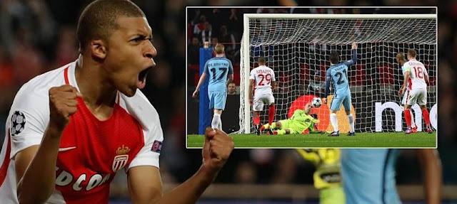 AS Monaco 3-1 Manchester City Highlights