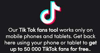 Tucfans.xyz || Cara Untuk Mendapatkan Penggemar Tik Tok Gratis Di Android Dan Ios