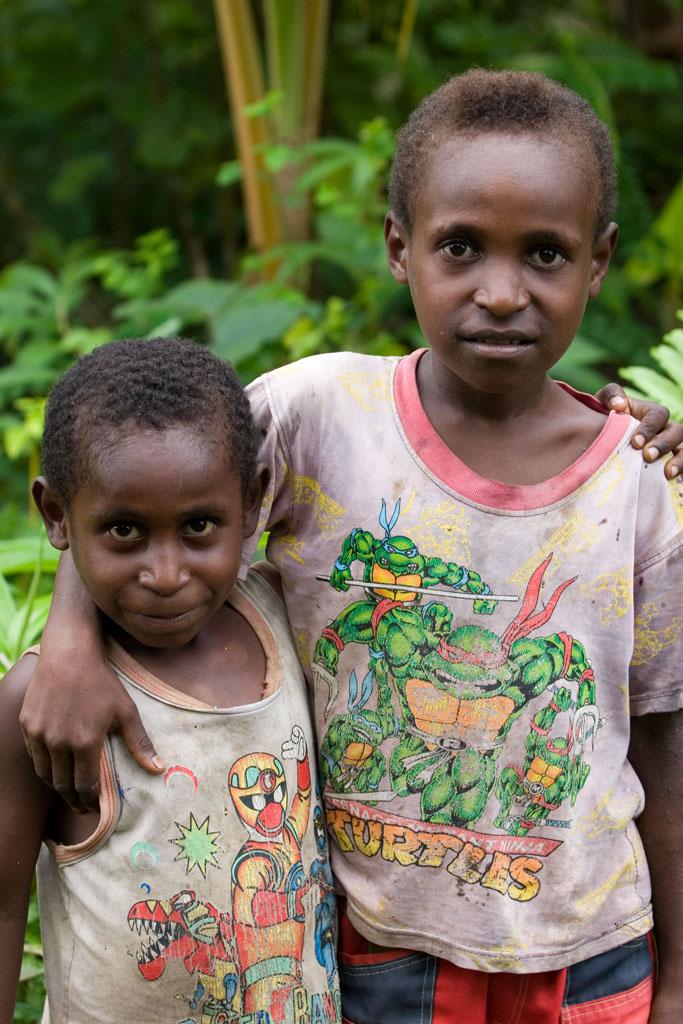 Penduduk Lokal Mimika TN Lorentz
