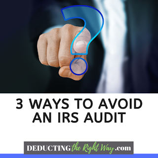 irs audit red flags small business | www.deductingtherightway.com