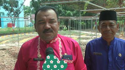 Dinas Lingkungan Hidup (DLH), Kabupaten Rokan Hilir Memberikan Percontohan Kepada Maysarakat