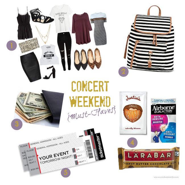 concert essentials