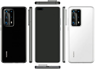 smartphone rilis 2020 Huawei p40 series