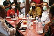 Walikota Dan Wawali Hadiri Pertemuan Bersama Deputi Satu Staf Kepresidenan Terkait Percepat Pembangunan serta Pemulihan Ekonomi Dibidang Perikanan