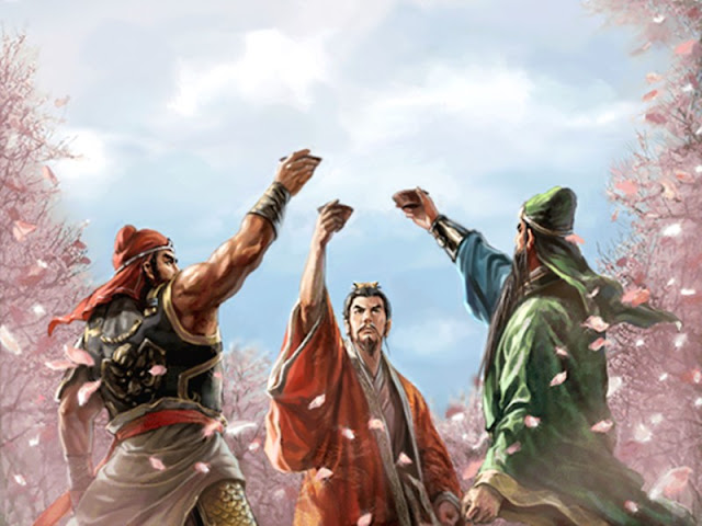 Chapter 1 : Three Heroes Swear Brotherhood In The Peach Garden; One Victory Shatters The Rebels In Battlegrounds.