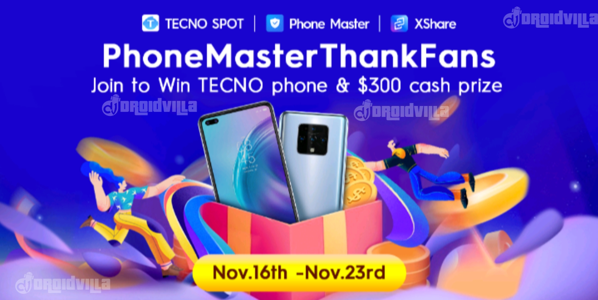 PhoneMasterThankFans free $20