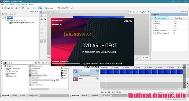 Download MAGIX VEGAS DVD Architect 7.0.0.100 Full Crack, ứng dụng ghi đĩa DVD và Blu-ray mạnh mẽ, MAGIX VEGAS DVD Architect, MAGIX VEGAS DVD Architect free download, MAGIX VEGAS DVD Architect full key,