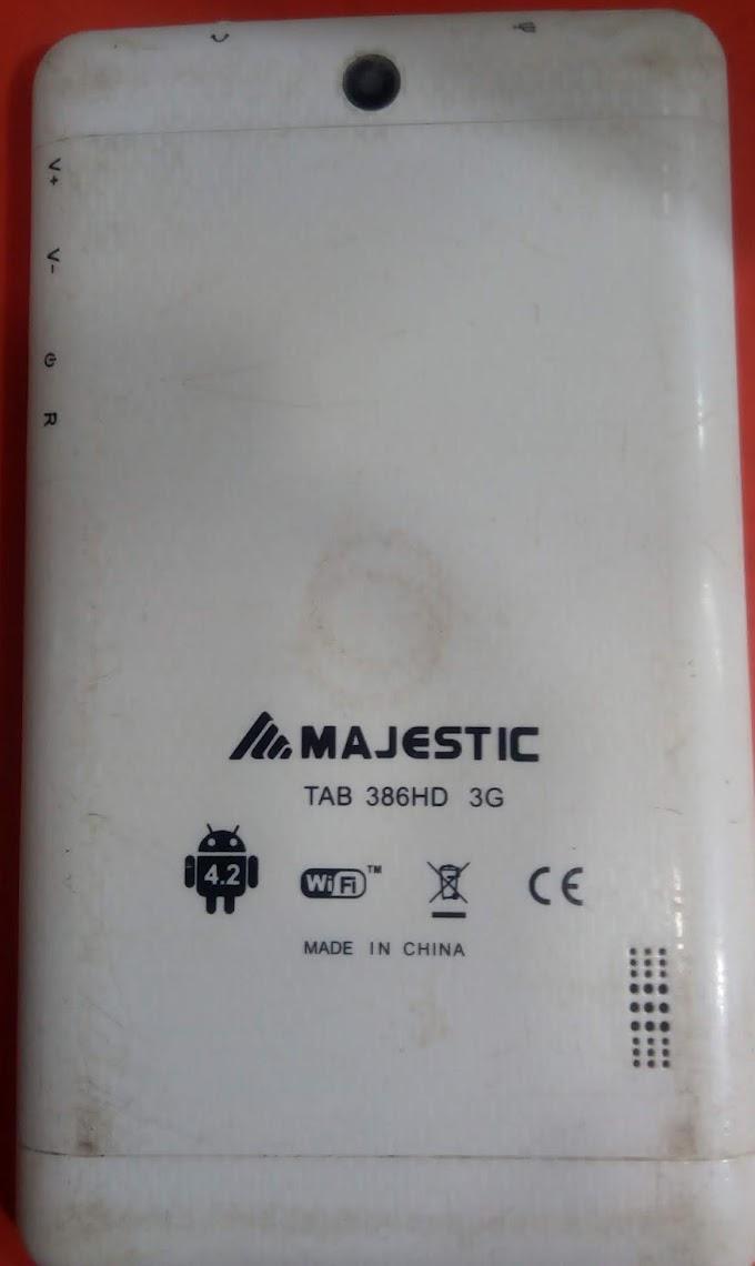 MAJESTIC TAB 386HD 3G FLASH FILE FIRMWARE STOCK ROM
