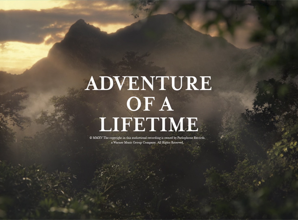 Adventure of a Lifetime by Coldplay