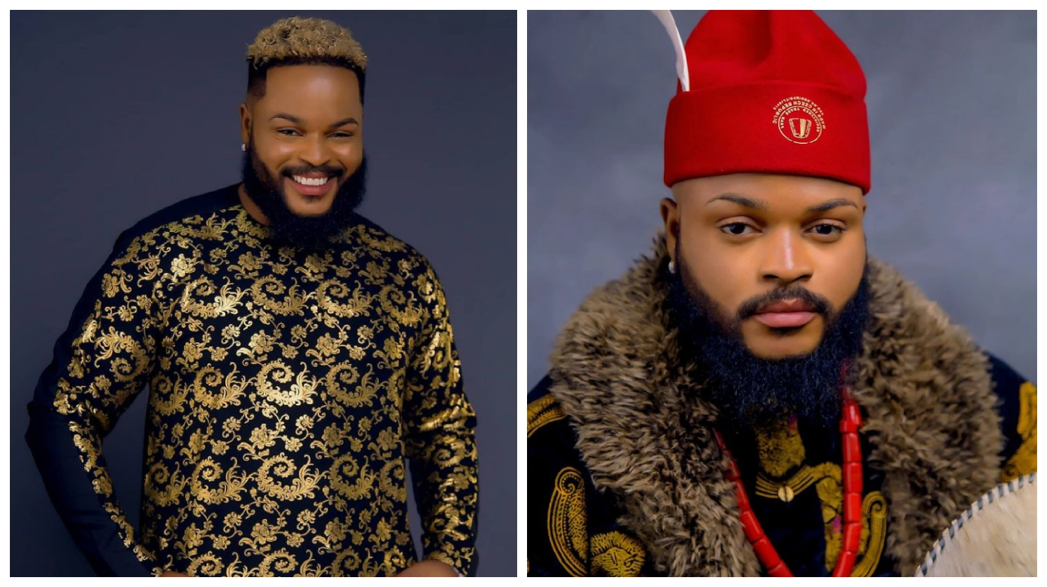 """BBNaija: """"I want to appear like a king on Sunday"""" - Whitemoney says as he begs Big Brother to get him a royal outfit designed with gold"""