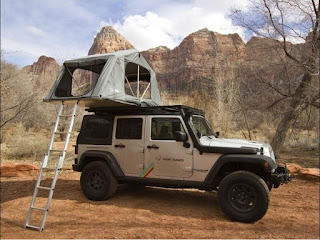 The weight issue if using RTT roof top tent solutions offroad.