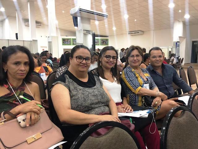 SECRETÁRIA DE EDUCAÇÃO DE FRONTEIRAS PARTICIPA DA CONFERÊNCIA ESTADUAL DE EDUCAÇÃO