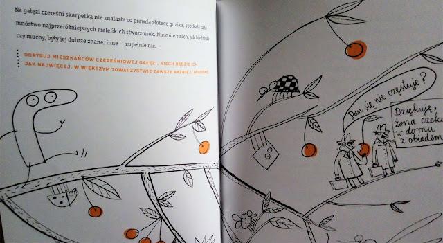 """""""Skarpetka na tropie, czyli kto ukradł złoty guzik"""" Justyna Bednarek, Wyd. Poradnia K"""
