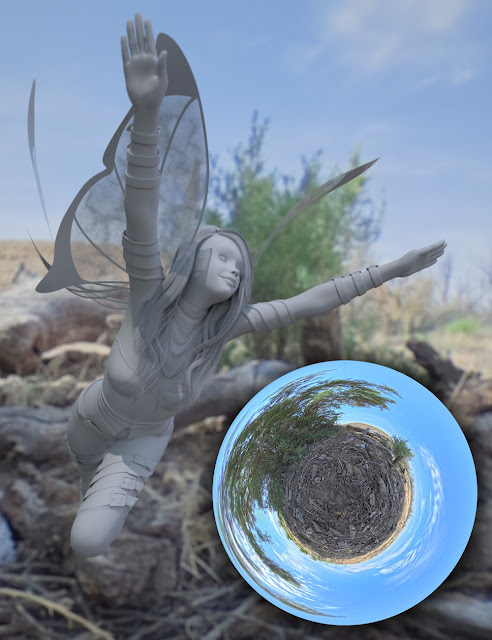 Fairy Scale IBL - Desert Dweller HDRI Environments