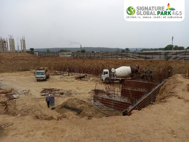 Signature Global Park Floor 4&5 Construction Update