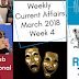 Weekly Current Affairs March 2018: Week IV