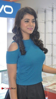 Telugu Actress Yamini Bhaskar Latest Pos in Blue Top and Black Skirt  0011.jpg