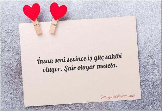 sevgiliye güzel sözler