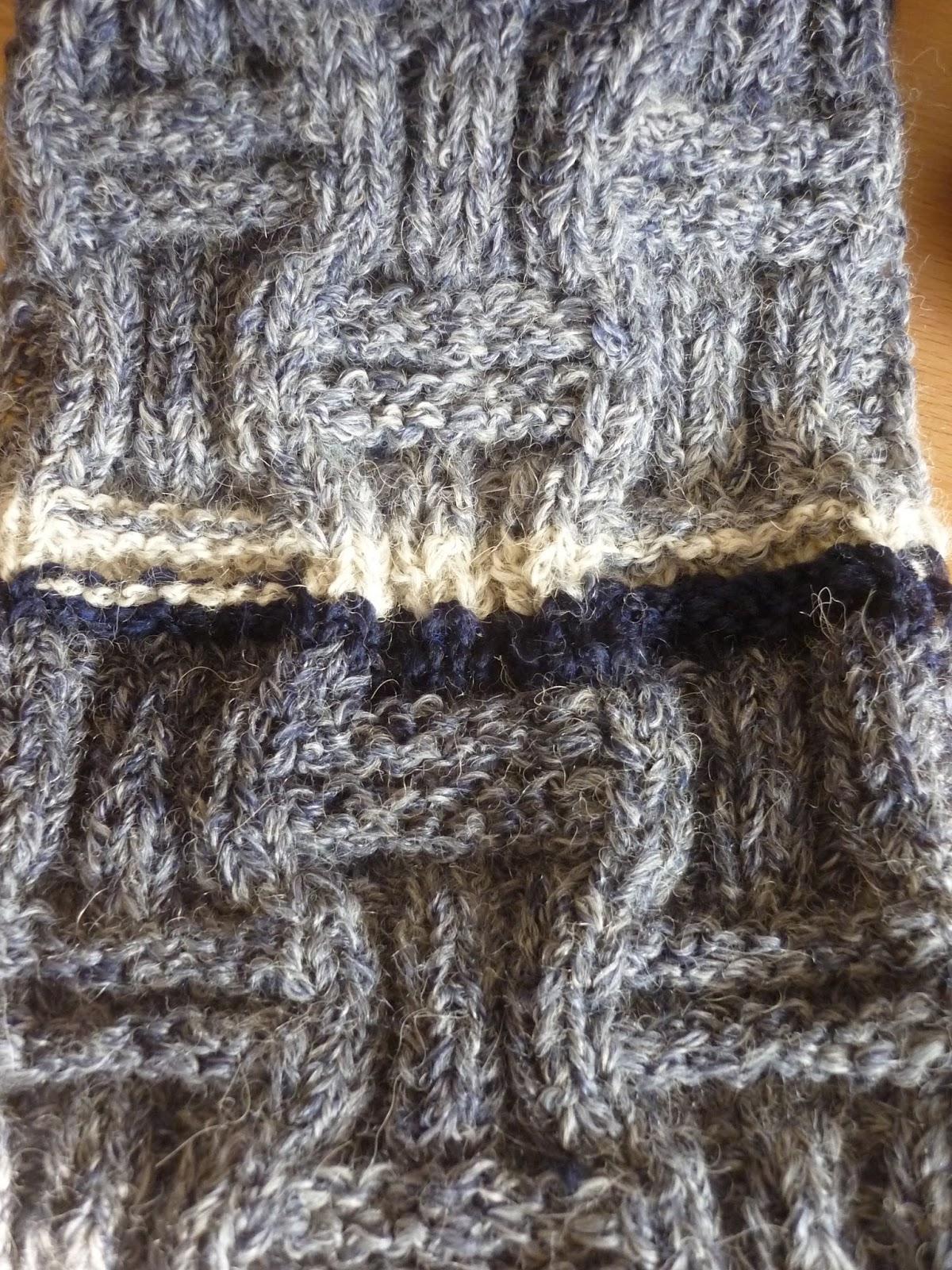 Handarbeiten: Männertauglicher Schal