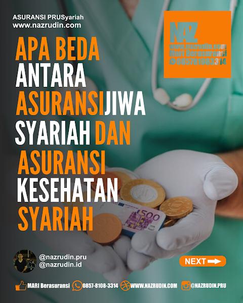 Apa Beda Antara Asuransi  Jiwa Syariah Dan Asuransi Kesehatan Syariah?