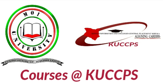 Diploma and undergraduate KUCCPS courses for Moi University
