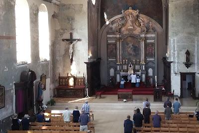 Bedevaart Dadizele Mis in de Sint-Franciscuskerk Menen