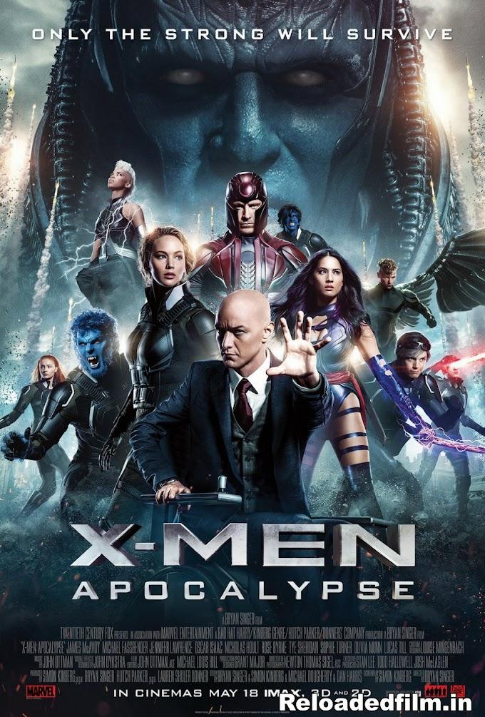 X-Men: Apocalypse 2016 BRRip 1080p, 720p, 480p Dual Audio