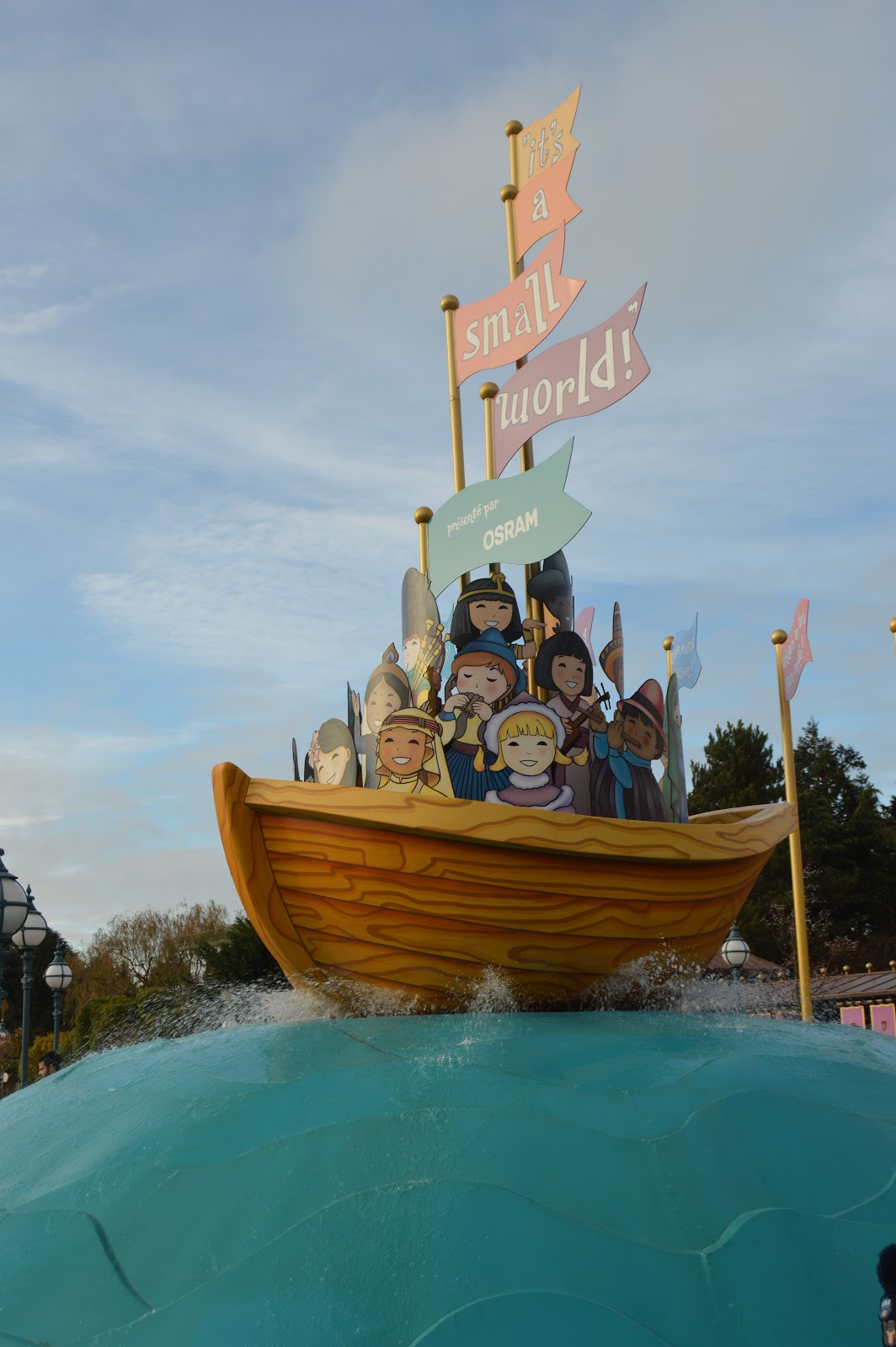 Its a small world ride at Disneyland Paris