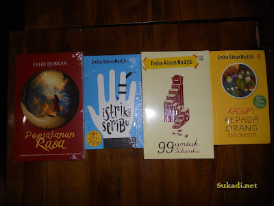 Buku Karya Emha Ainun Nadjib dan Fahd Dibran
