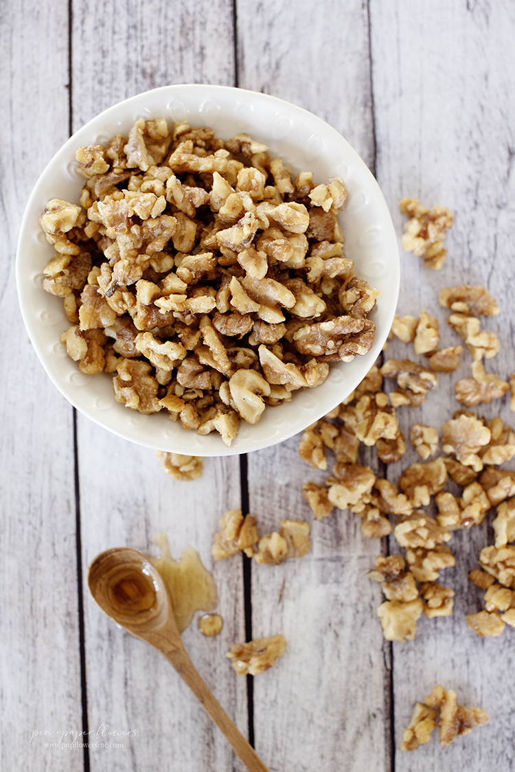 Maple-Infused Walnuts