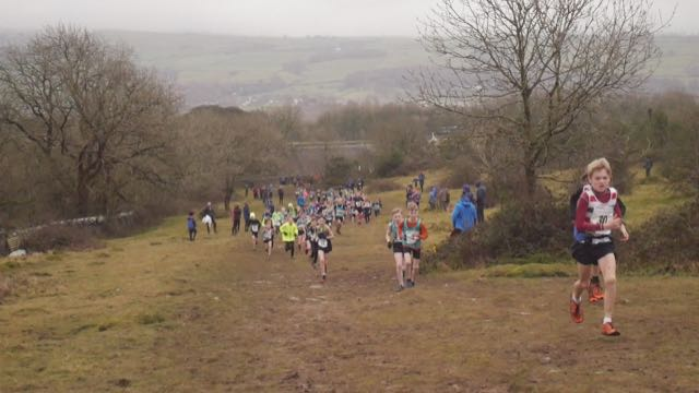 Kendal Winter League Scout Scar U13 fell Race