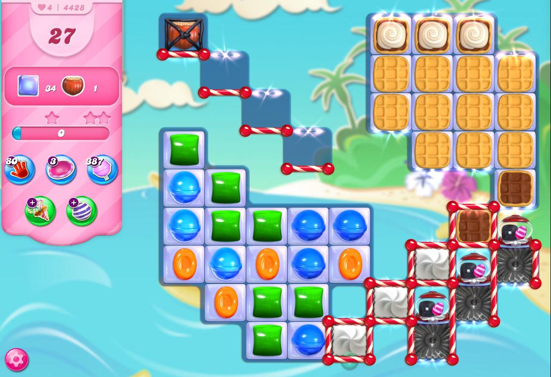 Candy Crush Saga level 4428