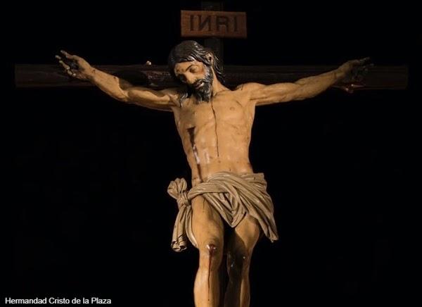 El Cristo de la Plaza de Aracena será repuesto al culto tras la restauración llevada a cabo en el IAPH