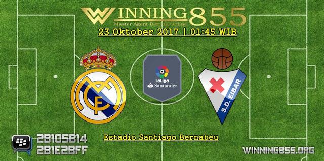 Prediksi Bola Real Madrid vs Eibar 23 Oktober 2017