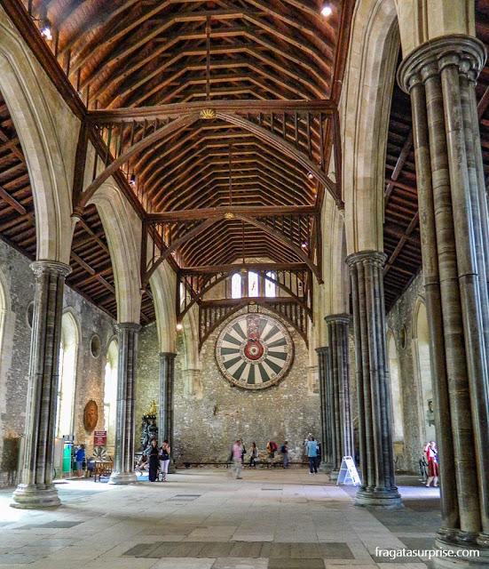 Great Hall de Winchester e a Távola Redonda